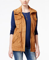 American Rag Faux-Suede Utility Vest, Only at Macy's