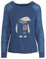 Woolrich Women's Motif Mohair Crew Sweater
