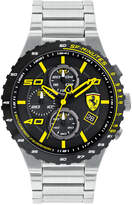 Ferrari Men's Chronograph Speciale Evo Chrono Stainless Steel Bracelet Watch 45mm 0830362