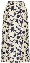 Brock Collection Quercini floral-jacquard midi skirt