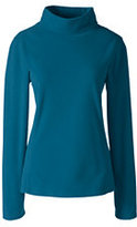 Classic Women's 100 Everyday Fleece Mock Pullover-Mosaic Teal