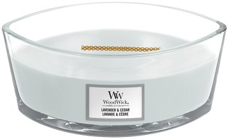 Woodwick Ellipse Jar Candle Lavender and Cedar