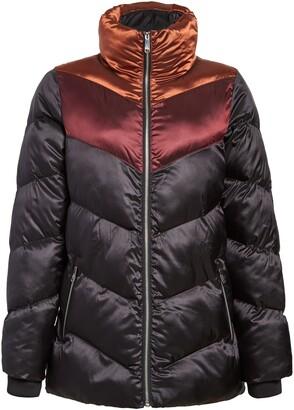 Sam Edelman Colorblock Puffer Coat