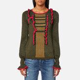 Maison Scotch Women's Crew Neck Knitted Jumper