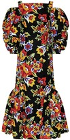 Carolina Herrera Floral cotton and silk dress