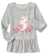 Gymboree Owl Peplum Top