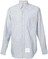 Thom Browne patch pocket shirt - men - Cotton - 4