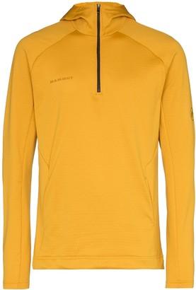 Mammut Runbold half-zip hooded sweatshirt