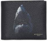 Givenchy Shark Print Faux Leather Classic Wallet
