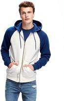 Old Navy Classic Full-Zip Color-Block Hoodie for Men