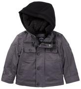 Urban Republic Faux Shearling Lined Ballistic Twill Jacket (Baby Boys)