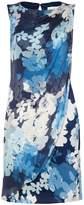 Damsel in a Dress Cerulean Print Dress