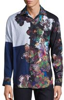 Robert Graham Magical Wings Floral Embroidery Shirt