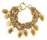 Chanel Medallion Logo Charm Bracelet