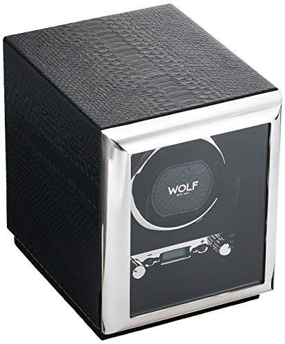 Wolf 461720 Exotic Single Watch Winder with Cover