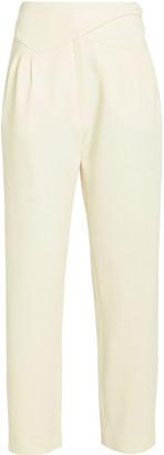 BLAZÉ MILANO Basque Wool High-Rise Trousers