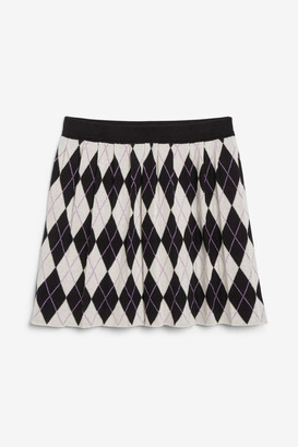 Monki Pleated mini skirt