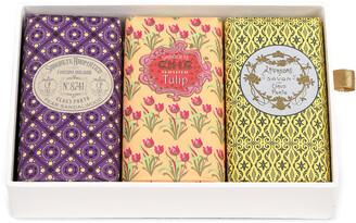 Claus Porto Gift Box Of Bar Soaps; 3 x 150g - Color: Multi - Material: 8741 Pear SandalwoodIngredients: Sodium Palmate; Aqua/Water; Sodium Palm Ker