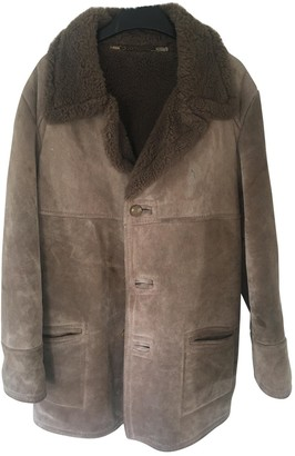 BEIGE Non SignA / Unsigned Shearling Coats