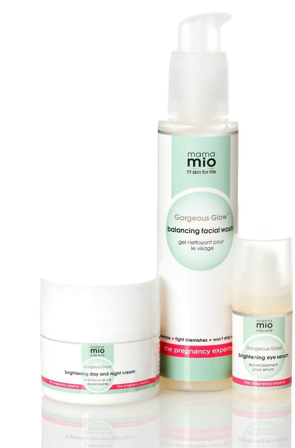 A Pea in the Pod Mama Mio Gorgeous Glow 3 Step Skincare System