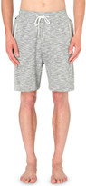 HUGO BOSS Marl-effect cotton pyjama shorts
