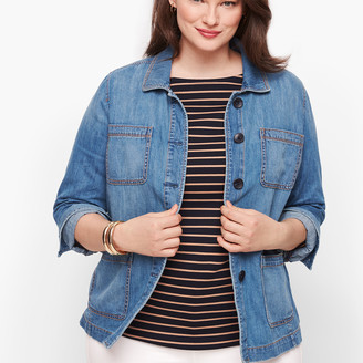 Talbots Casual Denim Jacket