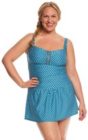 Jantzen Plus Size Wow Factor Swim Dress 8156704