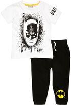 River Island Mini boys black Batman pyjama set