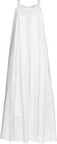 Osman Maysan pleated cotton maxi dress
