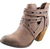 Not Rated Enzo Women Round Toe Synthetic Bootie.