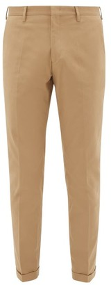 Paul Smith Slim-leg Stretch-cotton Twill Chinos - Brown
