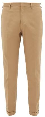 Paul Smith Slim-leg Stretch-cotton Twill Chinos - Mens - Brown