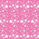 Wall Candy Arts WallCandy Arts French Bull Starlight Night Rose Wallpaper, Pink/White