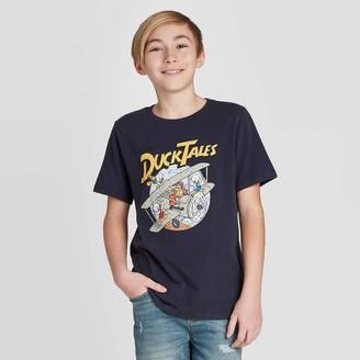 Boys' Short Sleeve Duck Tales T-Shirt - art classTM Navy