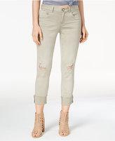 REWIND Juniors' Ripped Skinny Jeans