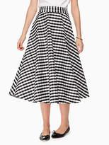 Kate Spade Gingham circle skirt