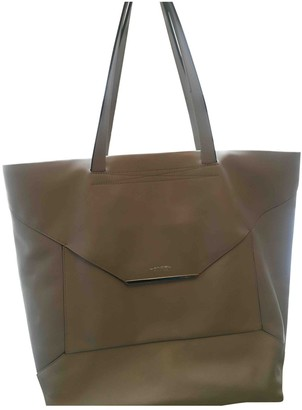 Lancel Beige Leather Handbags