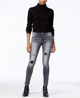 True Religion Ripped Skinny Jeans, Faded Black