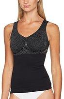 Belly Cloud Women's Shape Jaquard Nadelstreifen, Figurformend, Seamless Shapewear Top