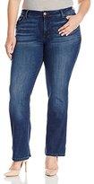 Lee Women's Plus-Size Modern Series Curvy-Fit Adrian Bootcut Jean