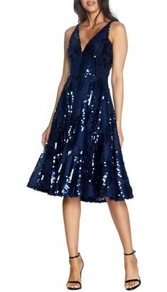 Dress the Population Sophie Fit & Flare Dress