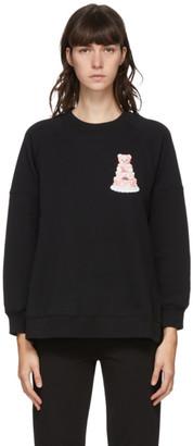 Moschino Black Teddy Tulle Sweatshirt