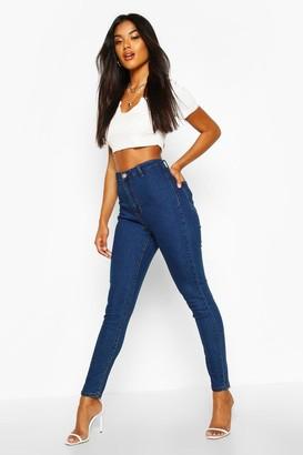 boohoo High Rise Disco Jean