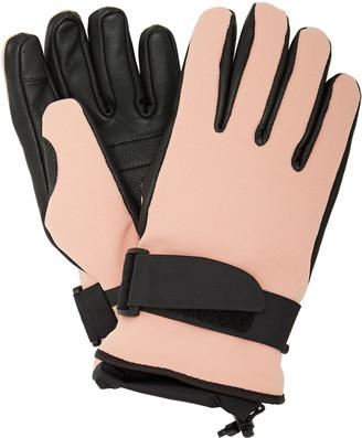 MONCLER GRENOBLE Leather-Paneled Tech-Twill Ski Gloves
