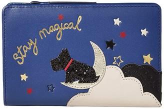 Radley London Stay Magical - Medium Bifold Purse (Sapphire) Wallet Handbags