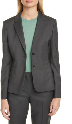 BOSS Jonina Vichy Check Suit Jacket
