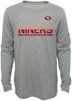 Nike Boys 8-20 San Francisco 49ers Practice Dri-FIT Long-Sleeve Tee