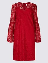 Red lace dress marks and spencer