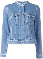 Acne Studios frayed collar denim jacket