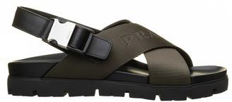 Prada Green Sandals